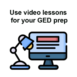 GED Prep with video lessons